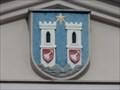 Image for Mestský znak  na budove pošty - Horaždovice, okres Klatovy, CZ