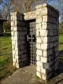 Image for Old City Calaboose Door - Stone Bridge Memorial Park - Fayetteville, TN