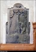 Image for Tombstones in the walls of Church of St. George / Náhrobní kameny ve zdech kostela Sv. Jirí - Velvary (Central Bohemia)