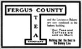 Image for Fergus County Tea Company & Lewistown Bakery