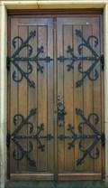 Image for Doorway of Katholische Kapelle Zum Heiligen Kreuz, Grafschaft - RLP / Germany