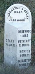 Image for Milestone - Otley Road, Harewood, Yorkshire, UK.