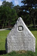 Image for 47th Georgia Infantry Marker - Chickamauga National Battlefield