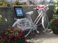 Image for Ghost Bike - Meg's Bike - Bank Street, Ottawa, Ontario