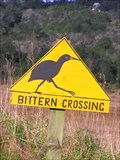 Image for Bittern Crossing at  Wainui Road .  New Zealand.