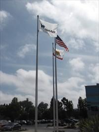NetApp Flag Setting, Sunnyvale, California