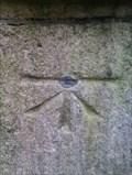 Image for Benchmark and rivet - St Simon & St Jude, Elm Hill, Norwich, Norfolk