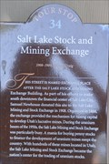 Image for Salt Lake Stock and Mining Exchange