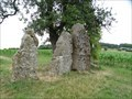 Image for les 3 menhirs d'Oppagne - Durbuy - Lux - Belgium