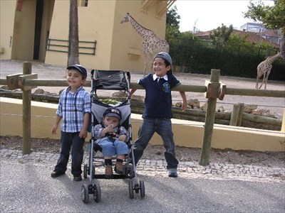 My sons and my nephew (on the right)