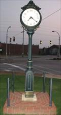 Image for City Corner Clock, Decatur, AL