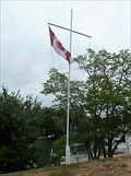 Image for Nautical Flag Pole - Bayfield, Ontario