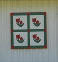 Image for Tulips barn quilt - Kingsport, TN