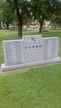 Image for Operation Desert Strorm - Blyton Veteran's Park, Sparta, WI