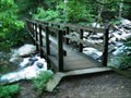 Image for Ramsey Cascades Trail - first bridge - GSMNP, TN