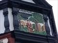 Image for The Woodman Pub Sign - Hanley, Stoke-on-Trent, Staffordshire, UK.