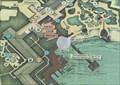 Image for Yacht & Beach Club Map (Boat Dock) - Lake Buena Vista, FL