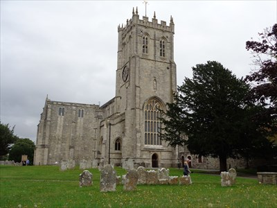 Christchurch Priory Church - Hampshire, UK.