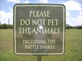 Image for Do Not Pet the Rattlesnakes - San Antonio, TX