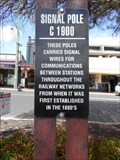 Image for Signal Pole - Maylands, Western Australia
