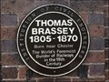 Image for Thomas Brassey, Worlds foremost builder of railways, Chester Railway Station, Chester, UK