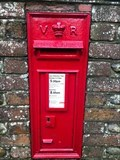 Image for Victorian Wall Post Box - Runcton near Chichester, West Sussex, UK
