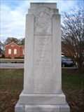 Image for War Between the States Monument, Commerce, GA