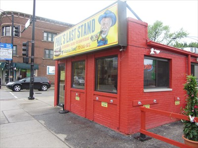 Corner of Oakley and Chicago ave. 2258 W. Chicago Ave. 773-245-FATS