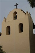 Image for Santa Ines Mission Bell tower - Solvang California