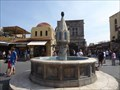 Image for Hippocrates' Square Fountain - Old Town, Rhodes, Greece