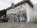 Image for Tintin and Captain Haddock Mural - Sao Paulo, Brazil