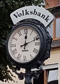 Image for Town Clock Kolpingplatz - Mülheim-Kärlich, RP, Germany
