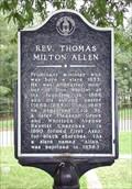 Image for Rev. Thomas Milton Allen  - old Marietta Cemetery in Marietta, Cobb Co., GA