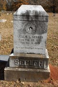 Image for Leslie L. Segler - Cole Cemetery - Ardmore, OK