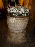 Image for Norman Font - St Illtyd's Church - Llantwit Major, Vale of Glamorgan, Wales.