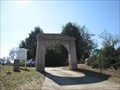 Image for Evergreen Cemetery Arch - Perry, GA