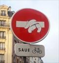 Image for Sens interdit, rue du champs de l'Alouette - Paris, Ile de France