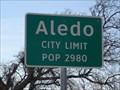 Image for Aledo, TX - Population 2980