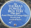 Image for Sir Thomas Fowell Buxton - Brick Lane, London, UK