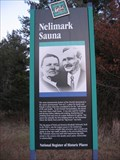 Image for Nelimark Sauna Historic Marker – Embarrass, MN