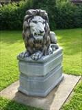 Image for Lion of friendship /Loewe der Freundschaft - Busbahnhof Fritzlar, Hessen, Germany