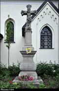 Image for Cross at Church of the Most Holy Trinity / Kríž u kostela Nejsvetejší trojice - Nový Jicín (North Moravia)