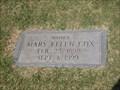 Image for 101 - Mary Ellen Cox - Rose Hill Burial Park - OKC, OK