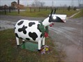 Image for Funny Mailboxes - Propane Cow