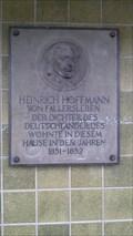 Image for Heinrich Hoffmann von Fallersleben - Neuwied - RLP - Germany