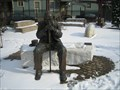 Image for Sit-by-me Statue - Reflecting, Rochester NY