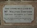 Image for 1896 - Wesleyan Church, West Perth,  Western Australia