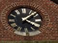 Image for Town Clock Sint Bendictuskerk - Lillo (Antwerpen), Belgium