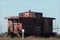Image for ATSF Caboose 999770 -- TX 114 nr CR 1100, nr Reese Center TX