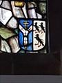 Image for Heraldic shield of Thomas Becket - St.Thomas of Canterbury - Camelford, Cornwall